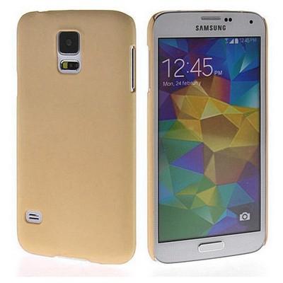 Microsonic Premium Slim Samsung Galaxy S5 Kılıf Altın Sarısı Cep Telefonu Kılıfı