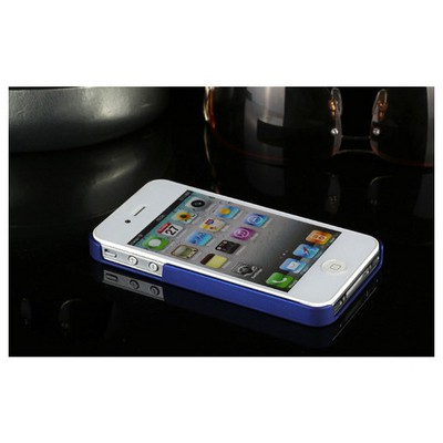 Microsonic Premium Slim Iphone 4s Kılıf Mavi Cep Telefonu Kılıfı