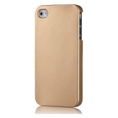 Microsonic Premium Slim Iphone 4s Kılıf Sarı Cep Telefonu Kılıfı