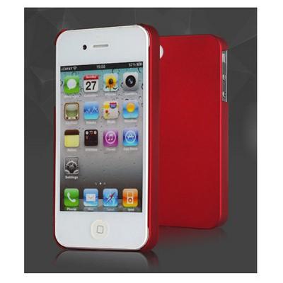 Microsonic Premium Slim Iphone 4s Kılıf Kırmızı Cep Telefonu Kılıfı