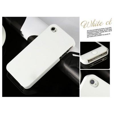Microsonic Premium Slim Iphone 4s Kılıf Beyaz Cep Telefonu Kılıfı