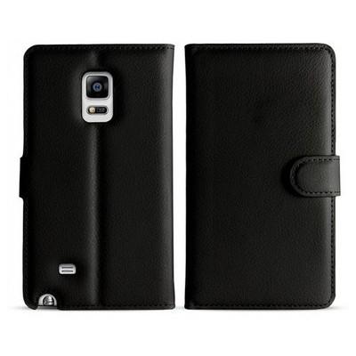 Microsonic Cüzdanlı Deri Samsung Galaxy Note Edge Kılıf Siyah Cep Telefonu Kılıfı