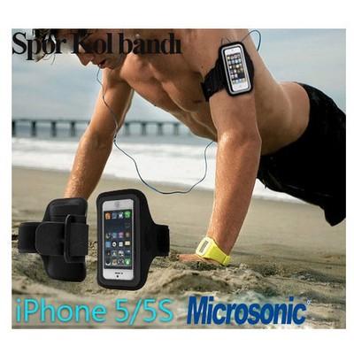 Microsonic Iphone 5 & 5s Cep Telefonu Spor Kol Bandı Cep Telefonu Kılıfı