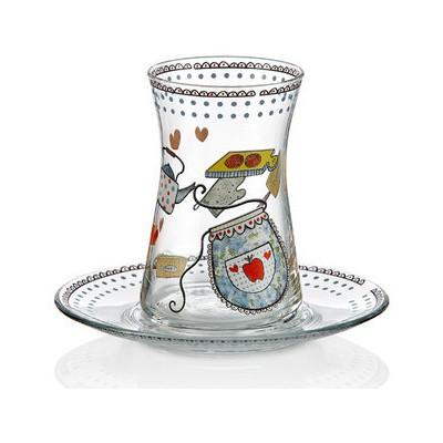 Goldmaster Bs-656 Heybeli Çay Bardağı Çay Seti