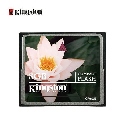 Kingston 8gb Compact Flash Card Cf/8gb