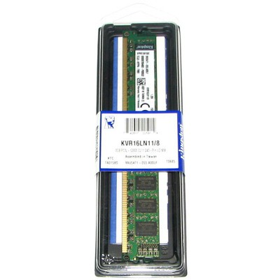 Kingston 8GB Desktop Bellek - KVR16LN11/8 Low
