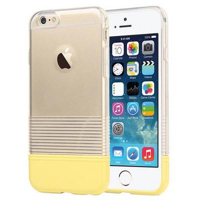 Microsonic Colors Soft Iphone 6 Kılıf Sarı Cep Telefonu Kılıfı
