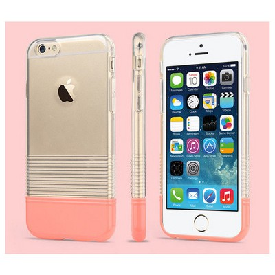 Microsonic Colors Soft Iphone 6 Kılıf Pembe Cep Telefonu Kılıfı