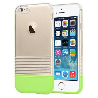 Microsonic Colors Soft Iphone 6 Kılıf Yeşil Cep Telefonu Kılıfı