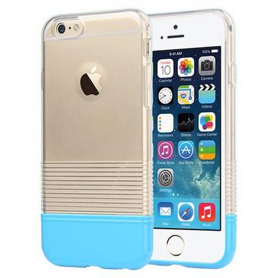 Microsonic Colors Soft Iphone 6 Kılıf Mavi Cep Telefonu Kılıfı