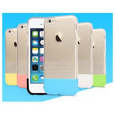 Microsonic Colors Soft Iphone 6 Kılıf Beyaz Cep Telefonu Kılıfı