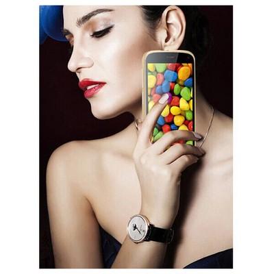 Microsonic General Mobile Discovery Thin Metal 0 Kılıf Gümüş Cep Telefonu Kılıfı