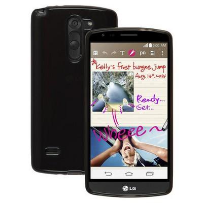 Microsonic Transparent Soft Lg G3 Stylus Kılıf Siyah Cep Telefonu Kılıfı