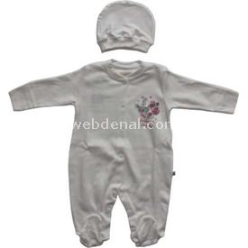 aziz-bebe-6275-bebek-tulumu-ekru-0-3-ay-56-62-cm-