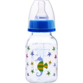 Bebedor %0 Bpa Desenli Cam  125 Ml Mavi Biberon