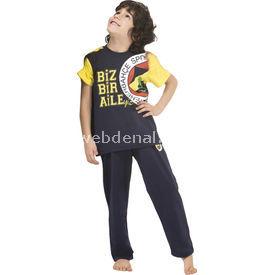Roly Poly 3032 Fenerbahçe Lisanslı Erkek Çocuk Pijama Takımı Lacivert 4 Yaş (104 Cm) Fenerbahçe Ürünleri