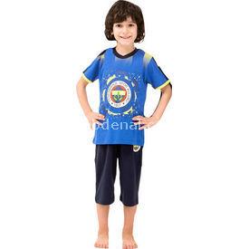 Roly Poly 3033 Erkek Çocuk Pijama Takımı Fb Lacivert 6 Yaş (116 Cm) Erkek Bebek Pijaması