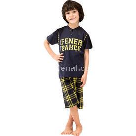 Roly Poly 3034 Erkek Çocuk Pijama Takımı Lacivert 5 Yaş (110 Cm) Erkek Bebek Pijaması