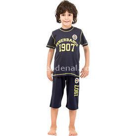 Roly Poly 3036 Fenerbahçe Lisanslı Erkek Çocuk Pijama Takımı Lacivert 4 Yaş (104 Cm) Fenerbahçe Ürünleri