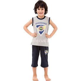 Roly Poly 3037 Fenerbahçe Lisanslı Erkek Çocuk Pijama Takımı Gri 7 Yaş (122 Cm) Fenerbahçe Ürünleri
