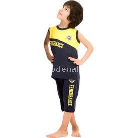 Roly Poly 3038 Fenerbahçe Lisanslı Erkek Çocuk Pijama Takımı Sarı-siyah 5 Yaş (110 Cm) Fenerbahçe Ürünleri