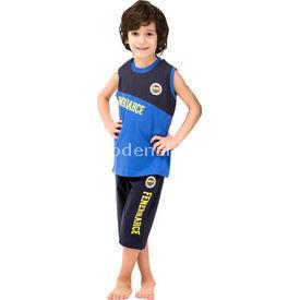 Roly Poly 3038 Fenerbahçe Lisanslı Erkek Çocuk Pijama Takımı Siyah-lacivert 2 Yaş (92 Cm) Fenerbahçe Ürünleri