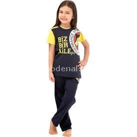Roly Poly 3068 Fenerbahçe Lisanslı Kız Çocuk Pijama Takımı Lacivert 3 Yaş (98 Cm) Fenerbahçe Ürünleri