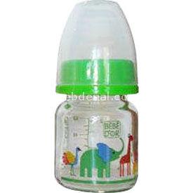 Bebedor 35301 Desenli Mini Cam Biberon 0+ Yeşil Bebek Besleme