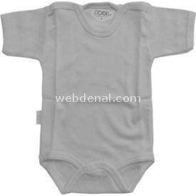 Sebi Bebe 51156 Yarım Kollu Bebek Badisi Krem 9-12 Ay (74-80 Cm) Erkek Bebek Body