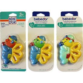Bebedor Ilk Duygularım Sarı-kelebek Dişlik & Çıngırak