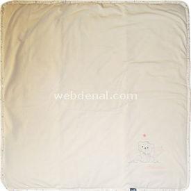 Bebetto B315 Penye Elyaflı Battaniye Gri Bebek Battaniyesi