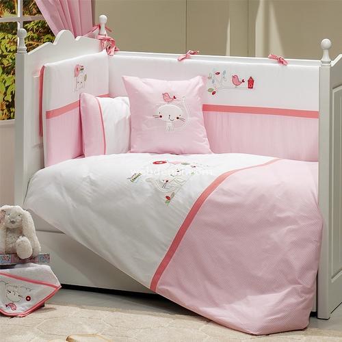 Funna Baby Tweet Home 4702  70x130 Bebek Uyku Seti