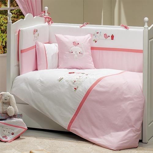 Funna Baby Tweet Home 4701  80x140 Bebek Uyku Seti