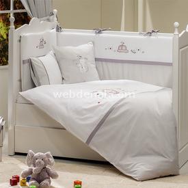 Funna Baby Beep Beep 4802  70x130 Bebek Uyku Seti