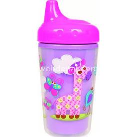 Bebedor 9509 Zoo Sert Uçlu Alıştırma Bardağı Pembe Bebek Besleme