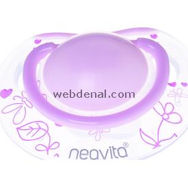 Neavita 15052 Ortodontik  Desenli 3ay+ Pembe Emzik