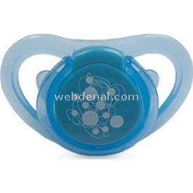 Bebedor 182 Air Series Damaklı Desenli Emzik No:2 Mavi Bebek Besleme