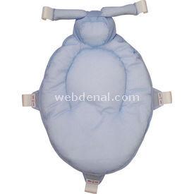 Sevi Bebe Çok Fonksiyonlu Banyo File Ve Minderi Mavi Bebek Küveti