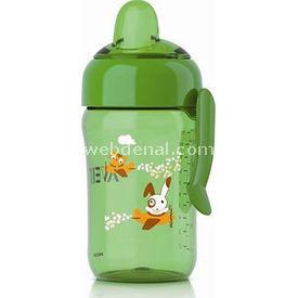 Philips Avent Philip Scf754/00 Truman Desenli Magıc Damlatmaz Bardak Sportster Uçlu 340 Ml Yeşil Bebek Besleme