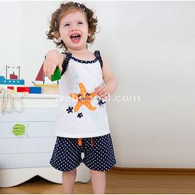 Wonder Kids Wk14s303 Marine 3 Lü Set Lacivert-beyaz 6-9 Ay (68-74 Cm) Kız Bebek Takım