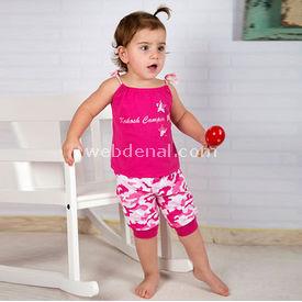 Wonder Kids Wk14s315 Camp 2li Takım 3-6 Ay (62-68 Cm) Kız Bebek Takım