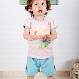 Wonder Kids Wk14s343 Natural Life 2li Set 6-9 Ay (68-74 Cm) Kız Bebek Takım