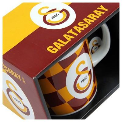 MGM Galatasaray Desenli Seramik Kupa Galatasaray Ürünleri