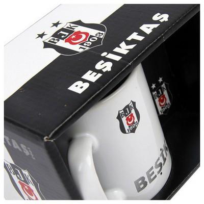MGM Beşiktaş Desenli Seramik Kupa Beşiktaş Ürünleri