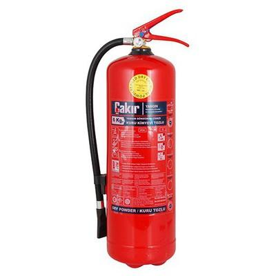 Çakir Yangın Tüpü 6 Kg Yangın Ekipmanı
