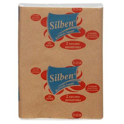 Silben Ekstra Z Katlama  180 Yaprak 12 Adet 1 Koli Kağıt Havlu