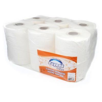 Soypak Plus Hareketli  25 cm 112,75 m 6 Adet 1 Koli Kağıt Havlu