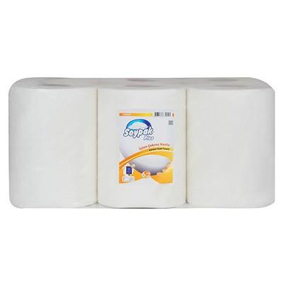Soypak Plus Içten Çekmeli  6 Adet 1 Koli Kağıt Havlu