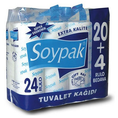 Soypak Ekstra  24 Adet Tuvalet Kağıdı