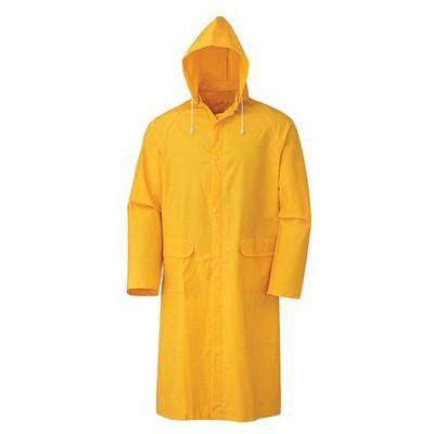 İş Koruma Pvc Pardesü Yağmurluk - Sarı İş Elbisesi